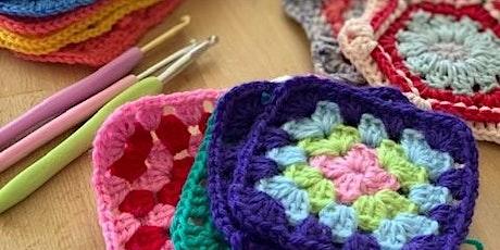 Crochet for absolute beginners tickets