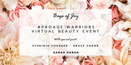 Bags of Joy #ProAge Warriors Virtual Event tickets