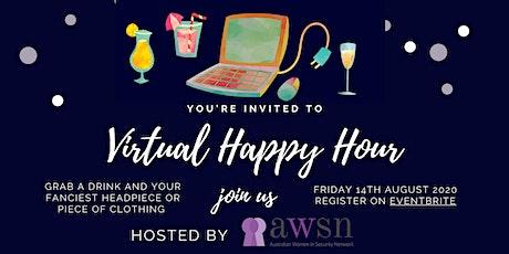 AWSN Virtual Happy Hour tickets