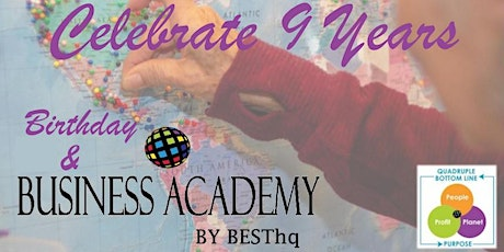 BESThq's Birthday & Business Academy:  #QBL - Planet tickets