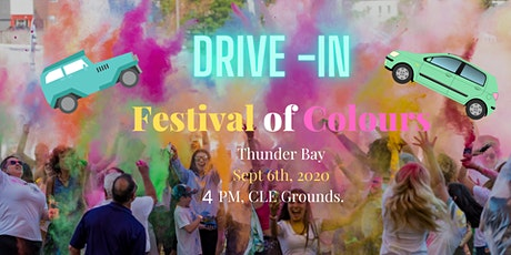 Drive -In Festival of Colours tickets