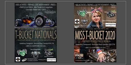 Australian T-Bucket Nationals, Hot Rod and Customs show tickets