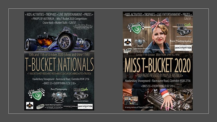 Australian T-Bucket Nationals, Hot Rod and Customs show image