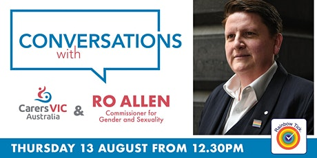 Special Edition of 'Conversations with Carers Victoria' Online Videocast tickets