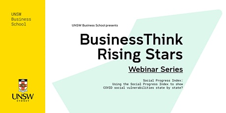 BusinessThink Rising Stars Webinar Series: Social Progress Index tickets
