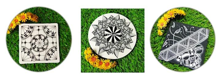 Zentangle Art (An Inward Journey) Online from 19 Sep image