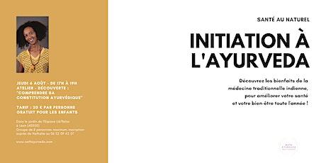 Atelier - découverte : initiation à l'Ayurveda billets
