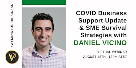 COVID-19 Business Support UPDATE & SME Survival Strategies tickets