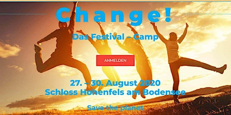 Change |Das Festival - Camp Tickets
