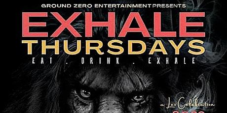 Exhale Thursdays tickets