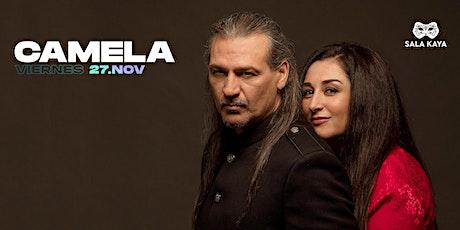 Concierto de Camela - Sala Kaya (Madrid) entradas