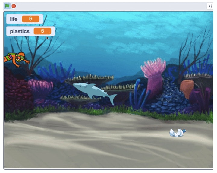 Journeys in Scratch: Create with Code, [Ages 7-10] @ East Coast image