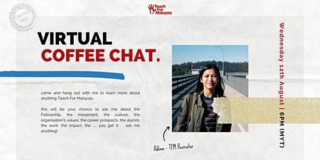 Virtual Coffee Chat With Adlina tickets