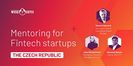 One on One mentoring for Czech startups tickets