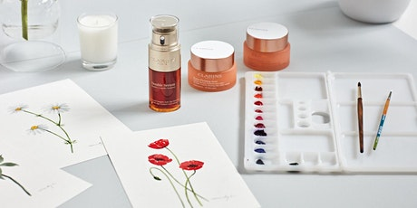 Clarins x Draw A Story - Introduction to Botanical Painting! tickets