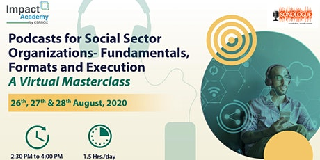 Podcasts for Social Sector Organizations tickets