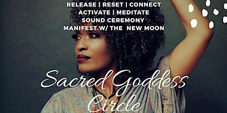 Virtual New Moon Sacred Goddess Circle tickets