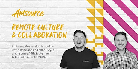 Remote Culture and Collaboration, with MURAL [Webinar] tickets