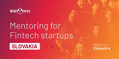 One on One mentoring for Slovak Fintech startups tickets