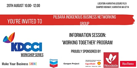 Pilbara Indigenous Business Networking Group- Information Session tickets