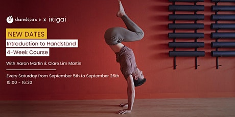 Introduction To Handstand | 4-Week Course tickets