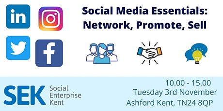 Social Media Essentials: Network, Promote, Sell tickets