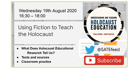 Using Fiction to Teach the Holocaust: What Does the Research Say? tickets