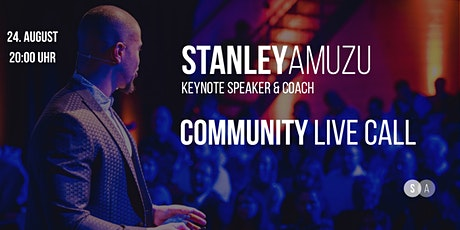 Stanley Amuzu Community Live Call Tickets