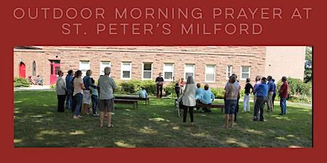 8:00 am Morning Prayer on the Church Lawn. tickets