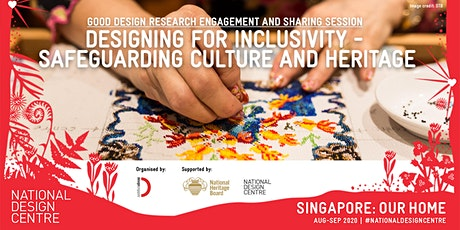 Designing for Inclusivity - Safeguarding Culture and Heritage tickets