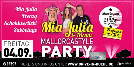 Mia Julia & Friends • Mallorcastyle Party • Eventarena Bühl (im Eventzelt) tickets