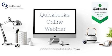 Quickbooks Online Webinar - Banking advanced tickets
