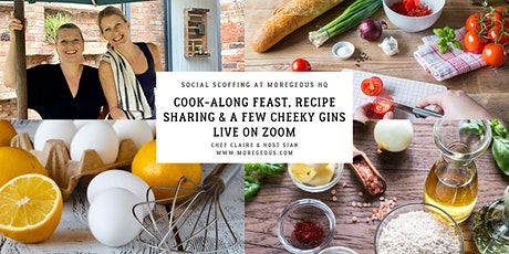 Social Scoffin': Friday Feast Cook-Along, Live at Moregeous Mansions tickets