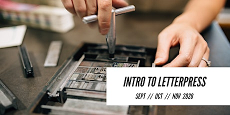Introduction to Letterpress Printing Workshop tickets