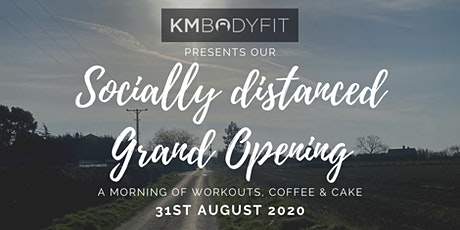 KMBODYFIT's Grand Opening tickets