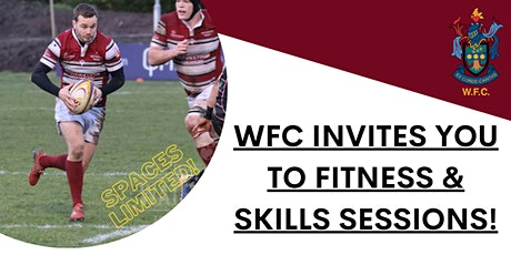 Week 2: Fitness & Skills Sessions (S1 - S6) tickets