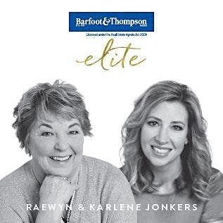 Karlene & Raewyn Jonkers - Barfoot & Thompson logo