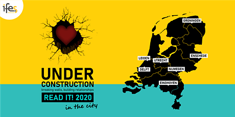 IFES Read it! 2020 | in the city - Utrecht tickets