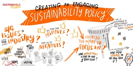 Workshop: Create an Engaging Sustainability Policy tickets