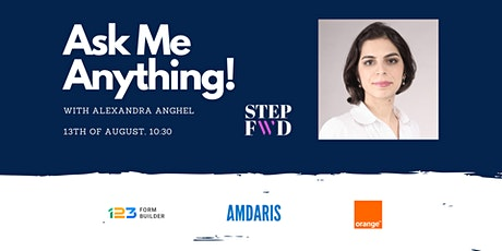 'Ask Me Anything!' powered by StepFWD tickets