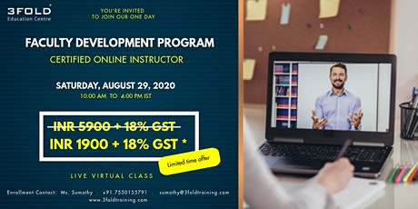 International Faculty Development Program - Certified Online Instructor tickets