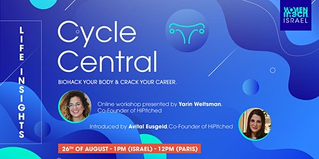 Cycle Central - Biohack Your Body & Crack Your Career tickets