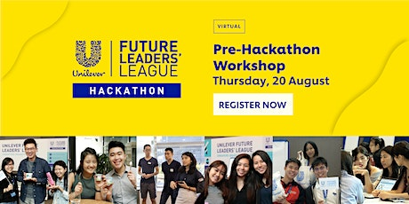 Unilever FLL Hackathon 2020: Pre-Hackathon Workshop tickets