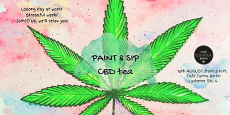 Paint & sip CBD tea! tickets