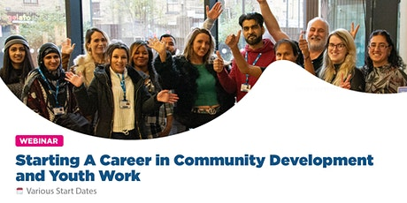 Starting A Career in Community Development and Youth Work tickets