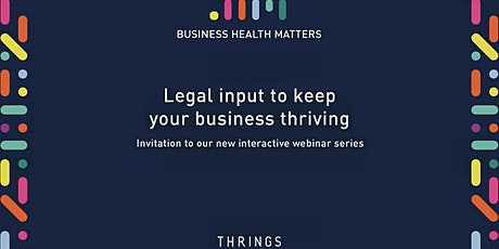 Business Health Matters: Landlords and Tenants tickets
