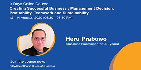 [3 Days Course] Creating Successful Business tickets