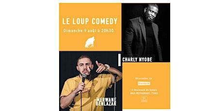 LE LOUP COMEDY  (DIMANCHE 20H30) billets