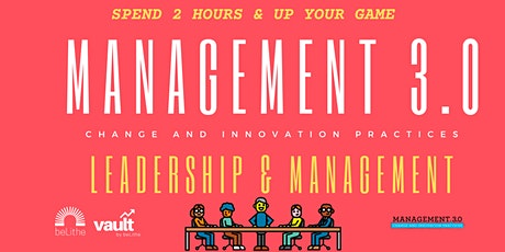 M30: Management and Leadership by beLithe tickets