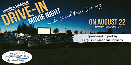 Drive-in Movie Night at Grand River Raceway - Double Feature tickets